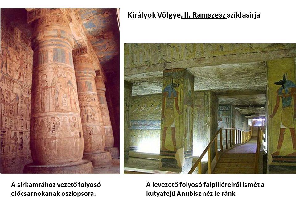 Királyok Völgye, II. Ramszesz szíklasírja