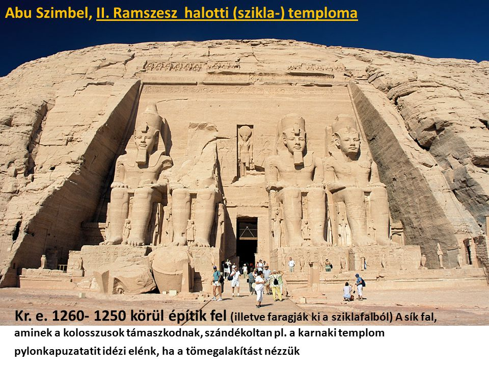 Abu Szimbel, II. Ramszesz halotti (szikla-) temploma