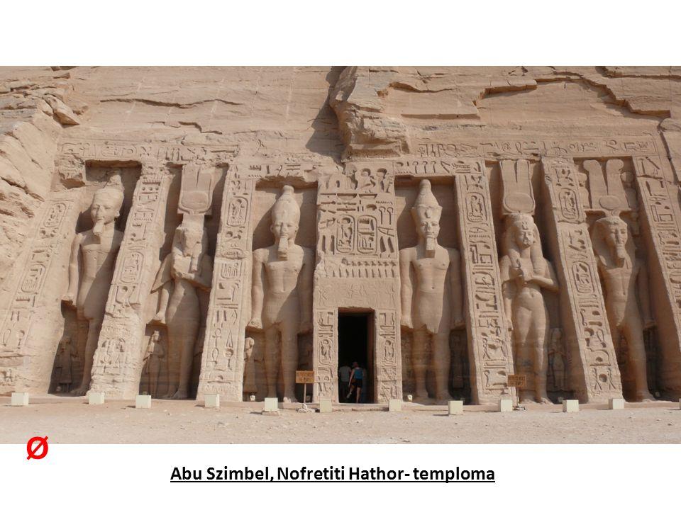 Abu Szimbel, Nofretiti Hathor- temploma