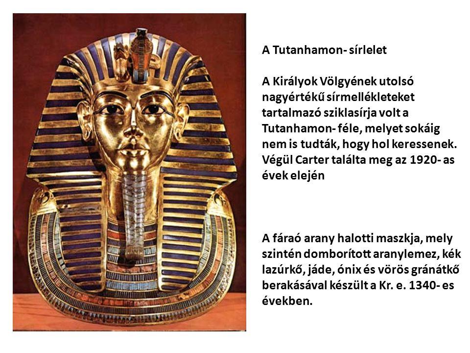 A Tutanhamon- sírlelet