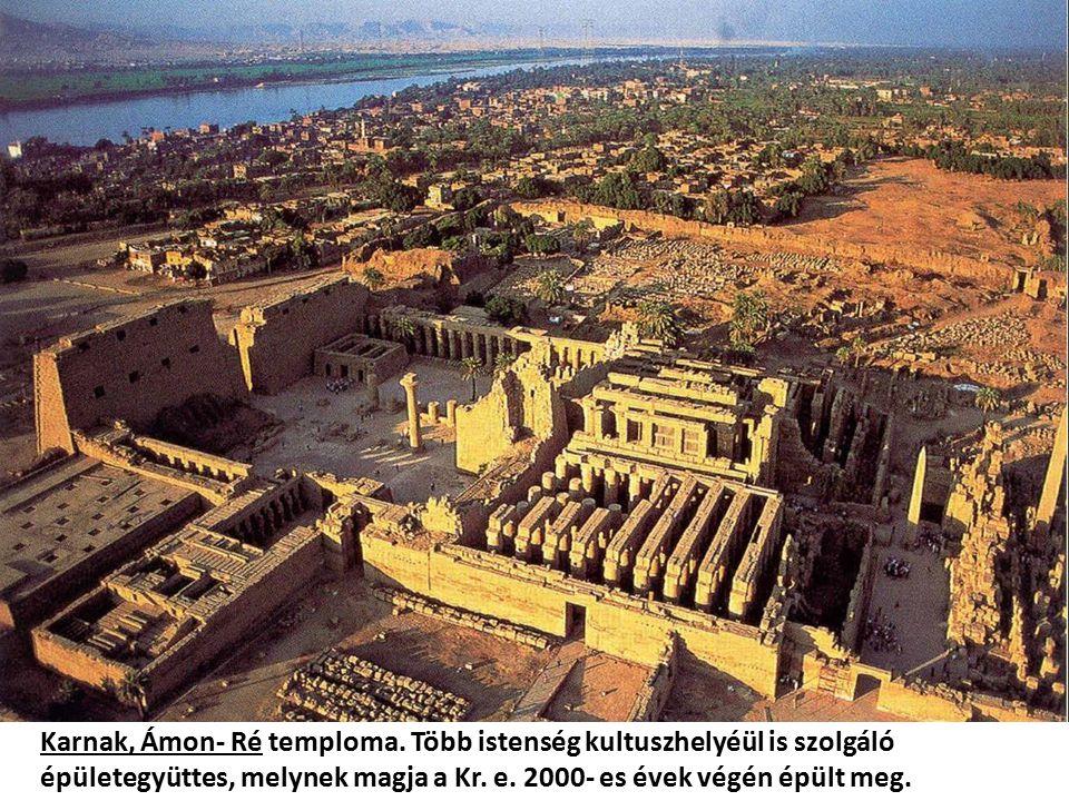 Karnak, Ámon- Ré temploma