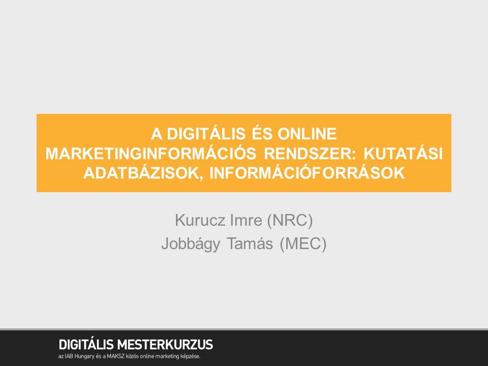 Kurucz Imre (NRC) Jobbágy Tamás (MEC)