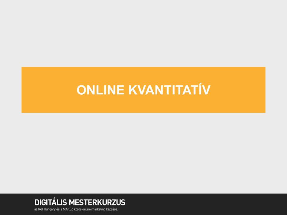 online kvantitatív