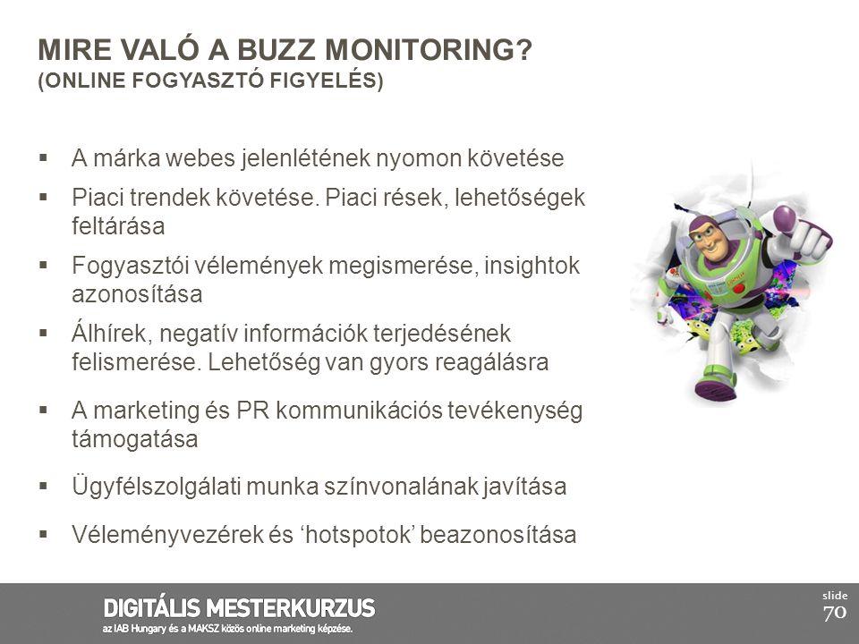 Mire való a Buzz Monitoring (Online Fogyasztó Figyelés)