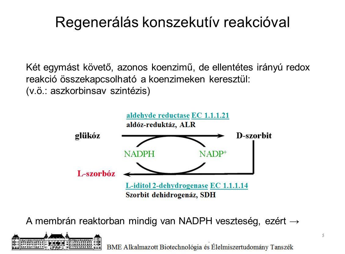 Regenerálás konszekutív reakcióval