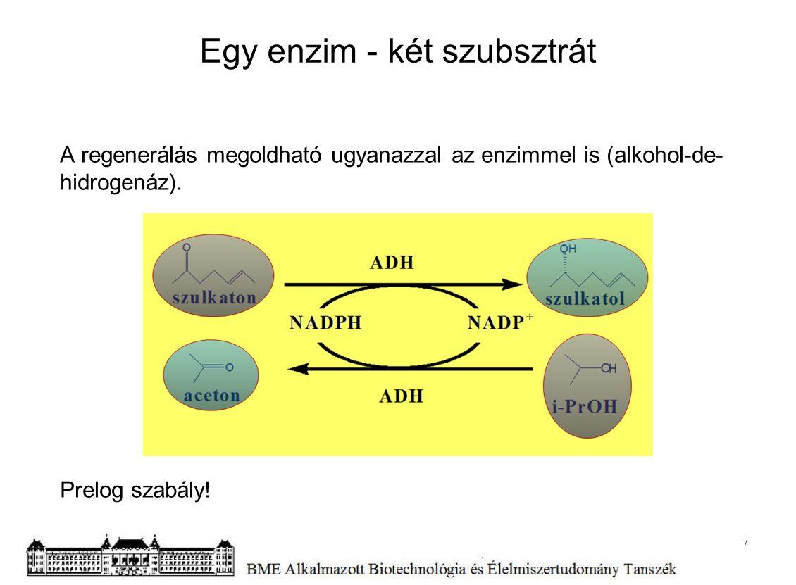 Egy enzim - két szubsztrát
