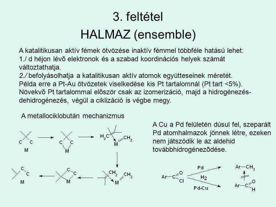 3. feltétel HALMAZ (ensemble)