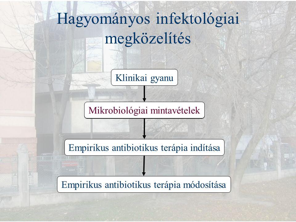 Hagyományos infektológiai megközelítés