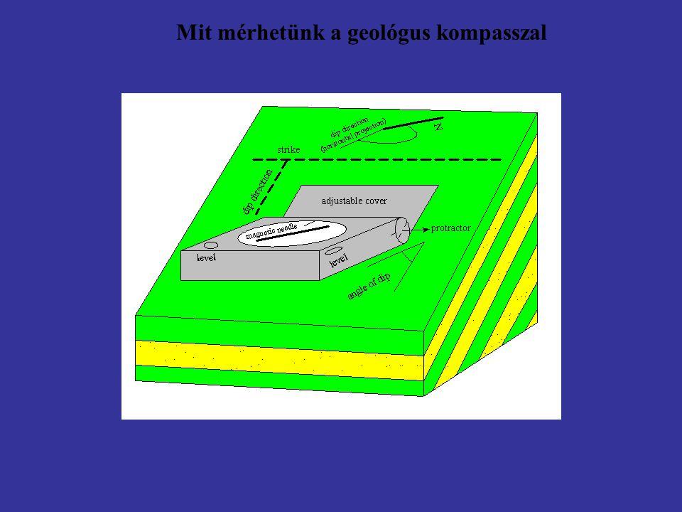 Mit mérhetünk a geológus kompasszal