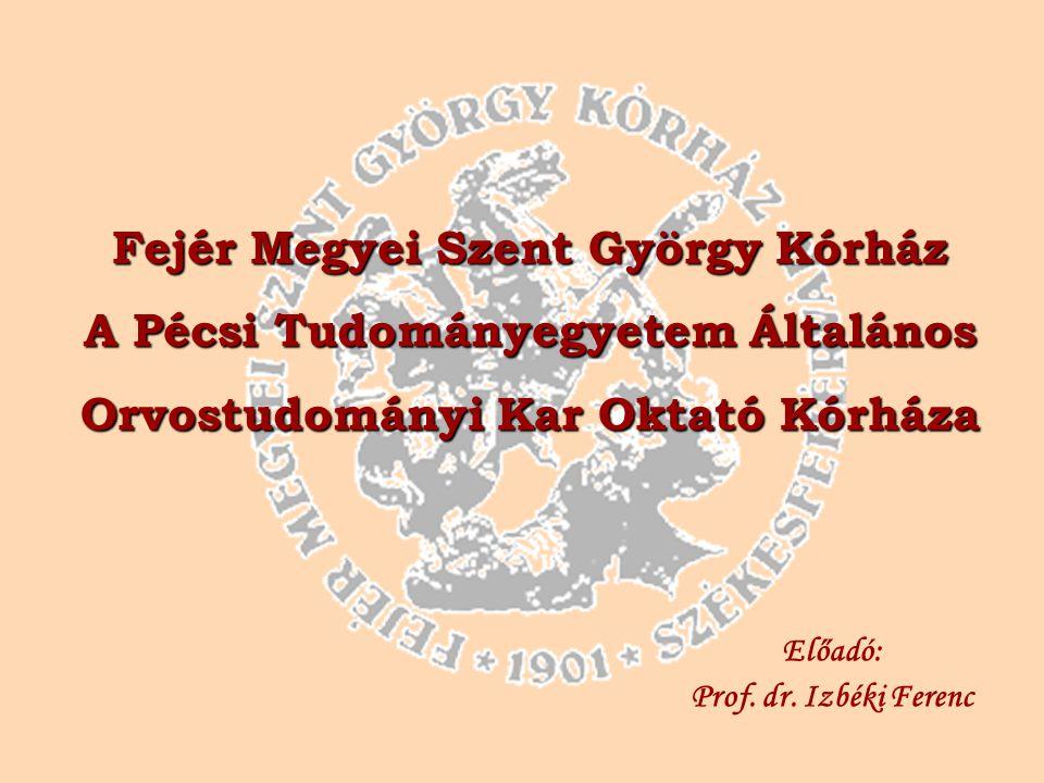 Előadó: Prof. dr. Izbéki Ferenc