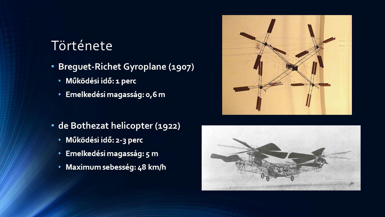 Története Breguet-Richet Gyroplane (1907)