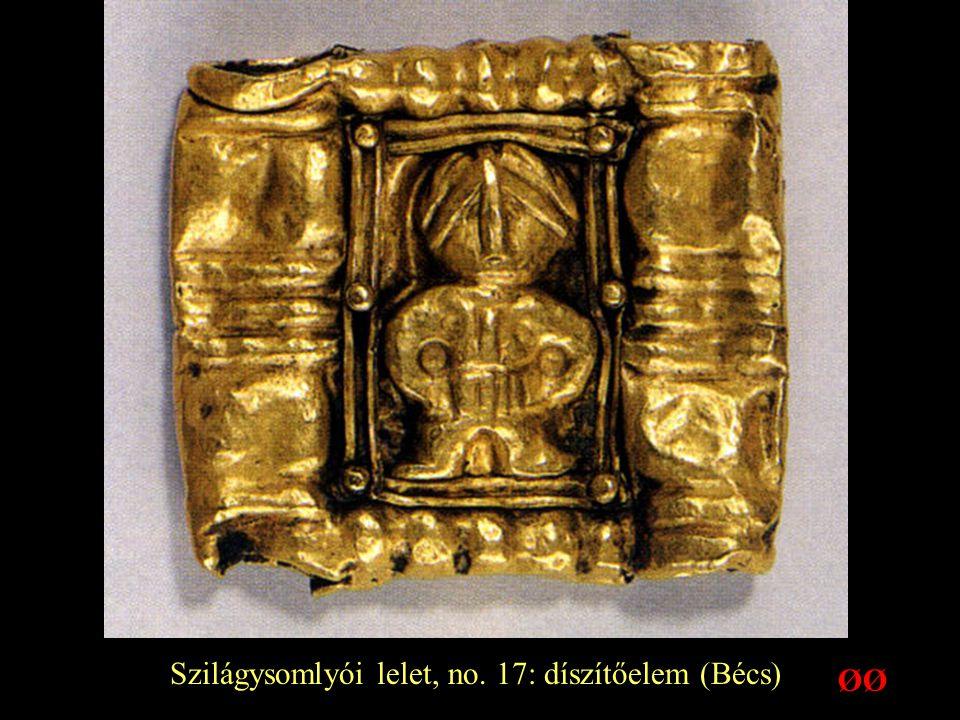 Szilágysomlyói lelet, no. 17: díszítőelem (Bécs)