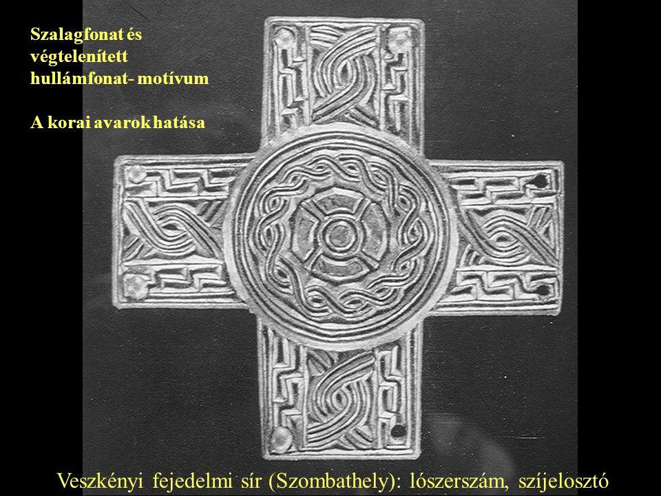 Veszkényi fejedelmi sír (Szombathely): lószerszám, szíjelosztó