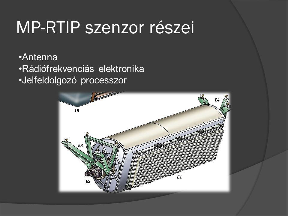 MP-RTIP szenzor részei