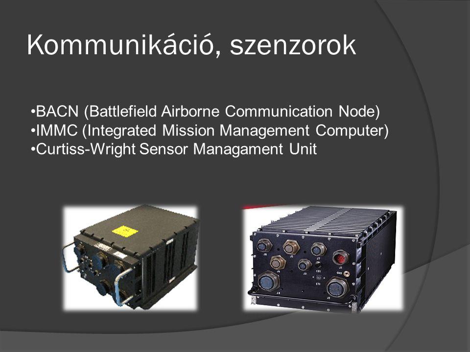 Kommunikáció, szenzorok