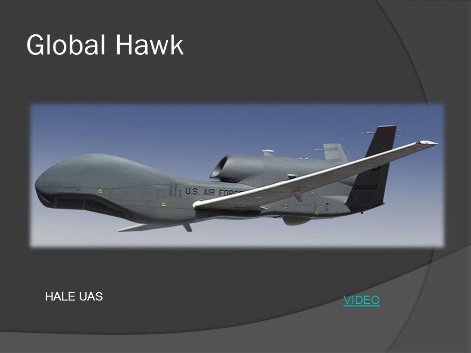 Global Hawk HALE UAS VIDEO