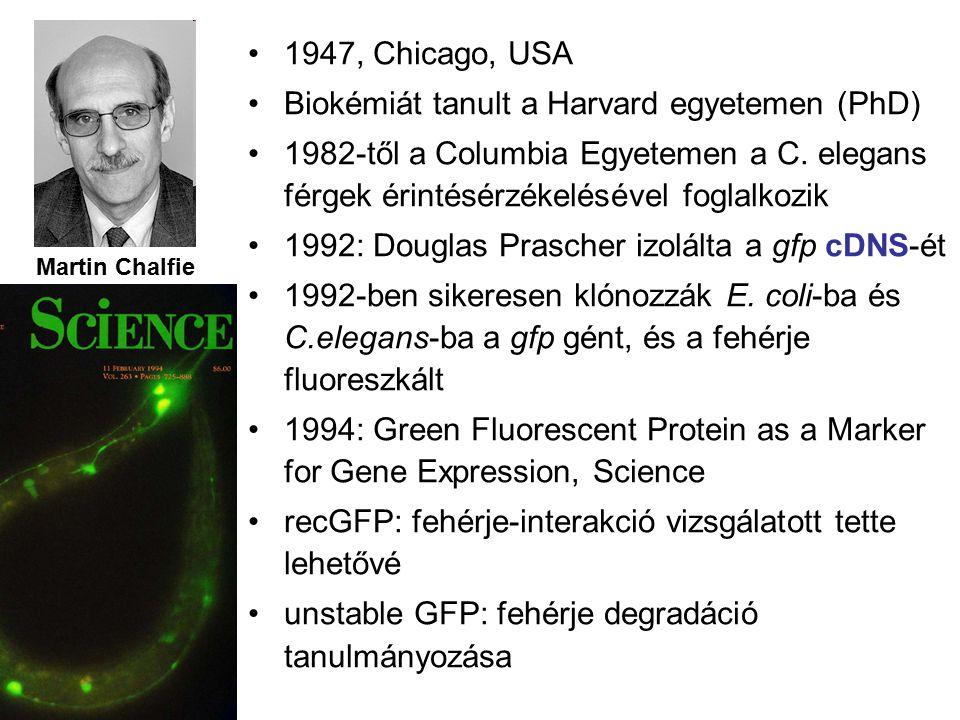 Biokémiát tanult a Harvard egyetemen (PhD)