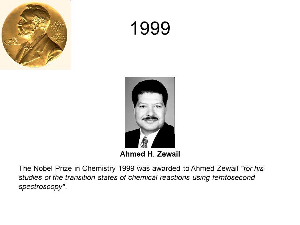 1999 Ahmed H. Zewail.