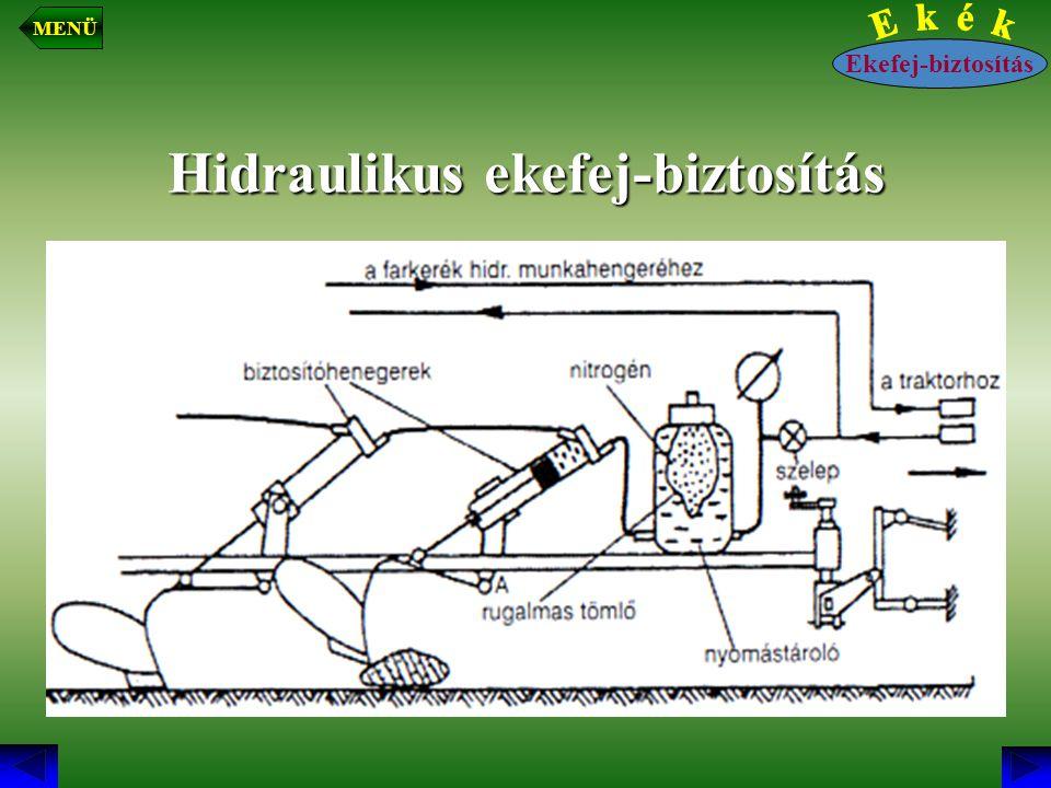 Hidraulikus ekefej-biztosítás