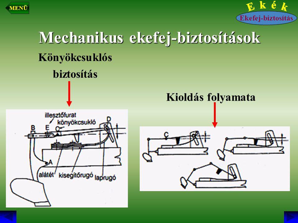 Mechanikus ekefej-biztosítások