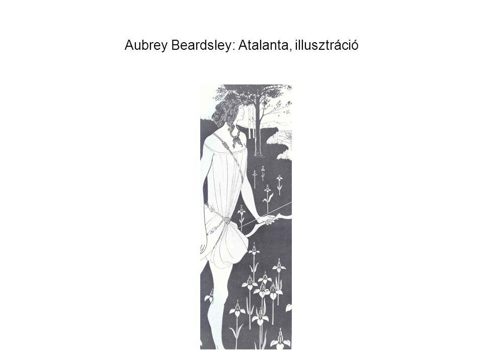Aubrey Beardsley: Atalanta, illusztráció