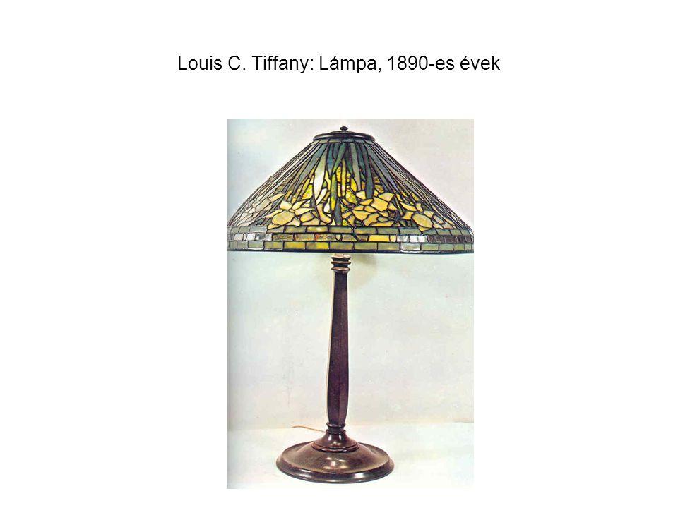 Louis C. Tiffany: Lámpa, 1890-es évek