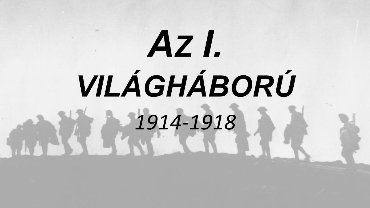 Az I. világháború 1914-1918