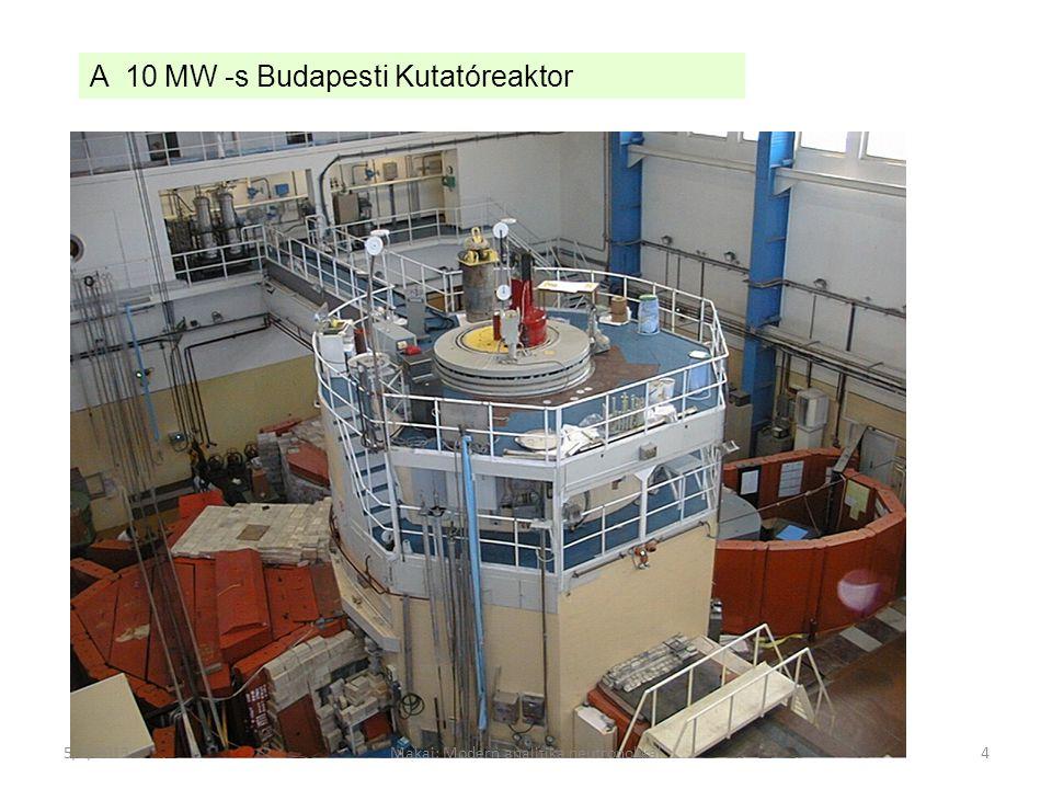 Makai: Modern analitika neutronokkal