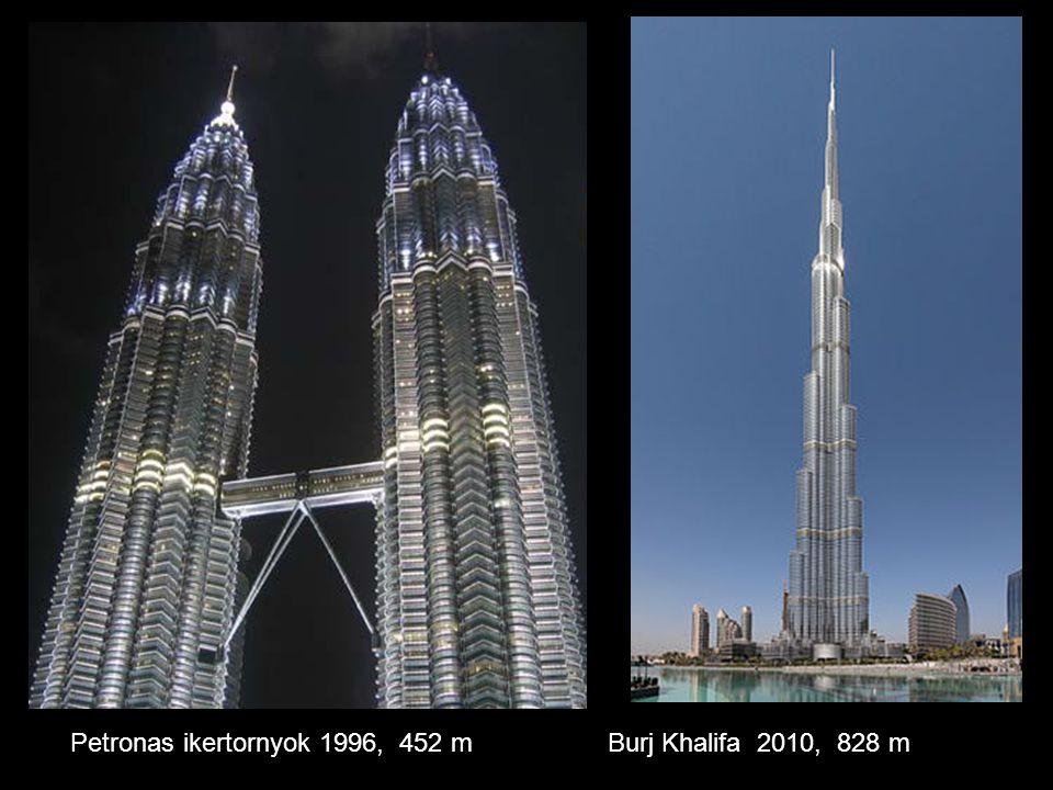 Petronas ikertornyok 1996, 452 m