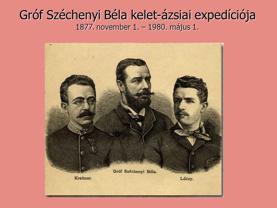 Gróf Széchenyi Béla kelet-ázsiai expedíciója