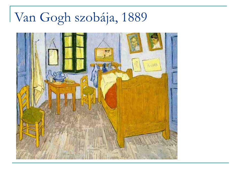 Van Gogh szobája, 1889