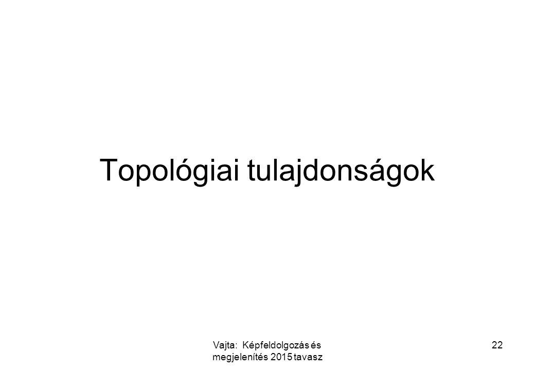 Topológiai tulajdonságok