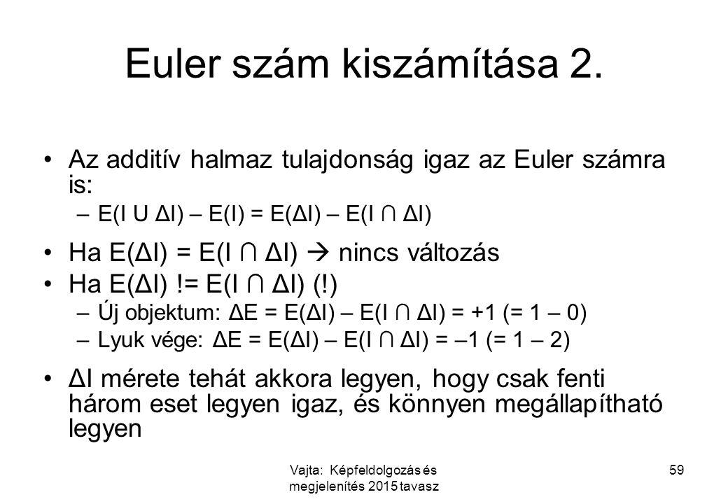 Euler szám kiszámítása 2.