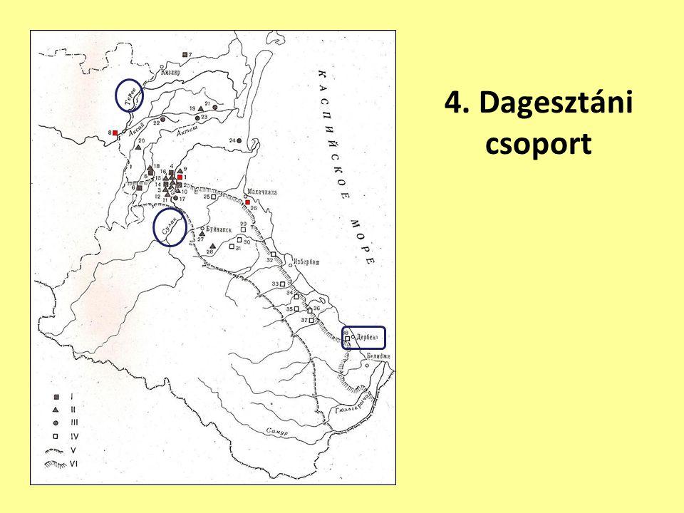 4. Dagesztáni csoport