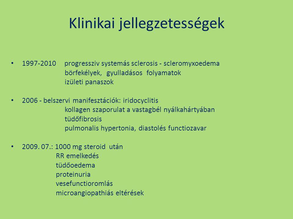 Klinikai jellegzetességek