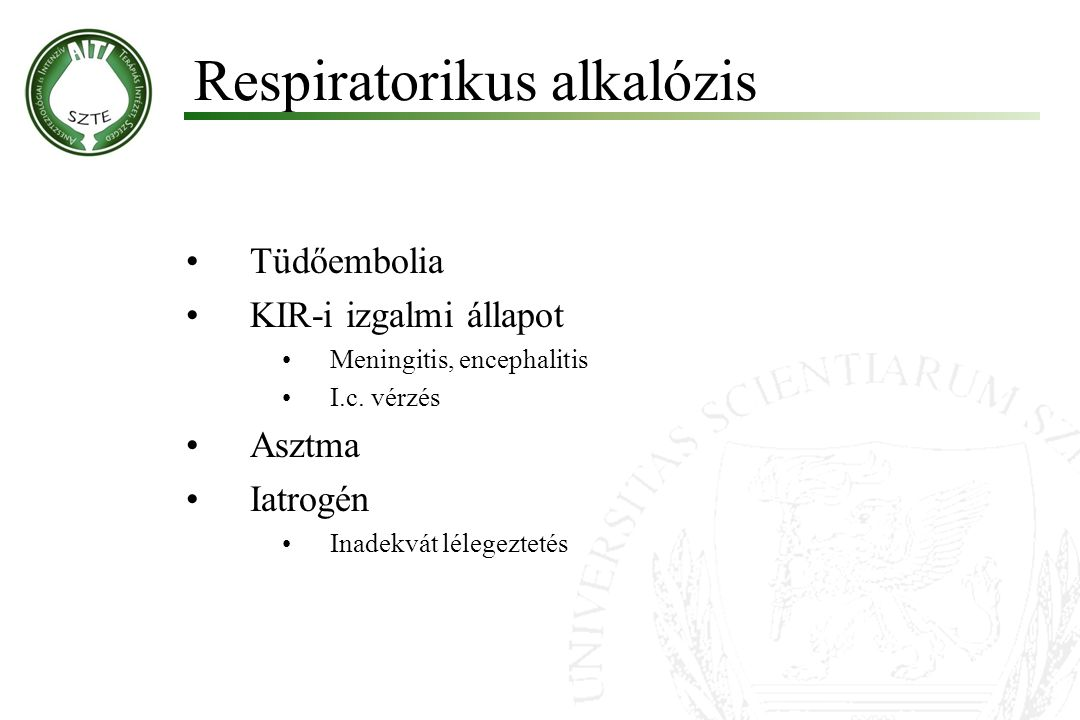 Respiratorikus alkalózis