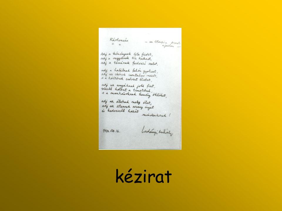 kézirat