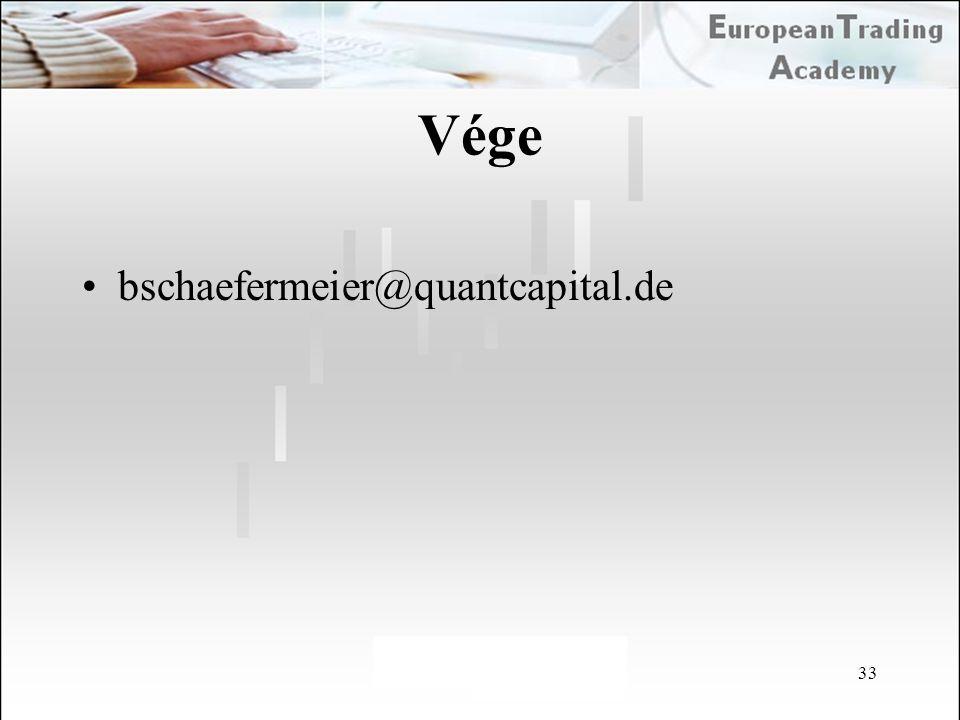 Vége bschaefermeier@quantcapital.de 33