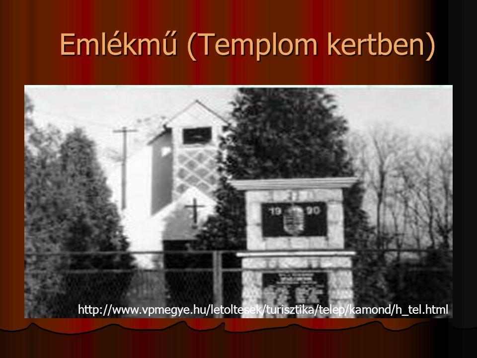Emlékmű (Templom kertben)