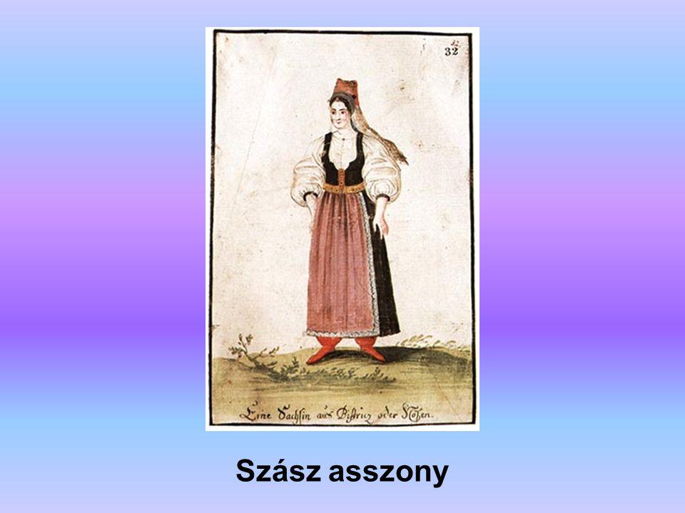 Szász asszony A forrás: Erdély története (főszerkesztő: Köpeczi Béla)