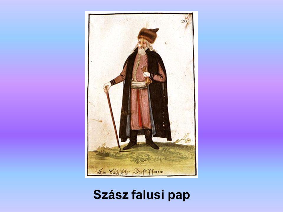 Szász falusi pap A forrás: