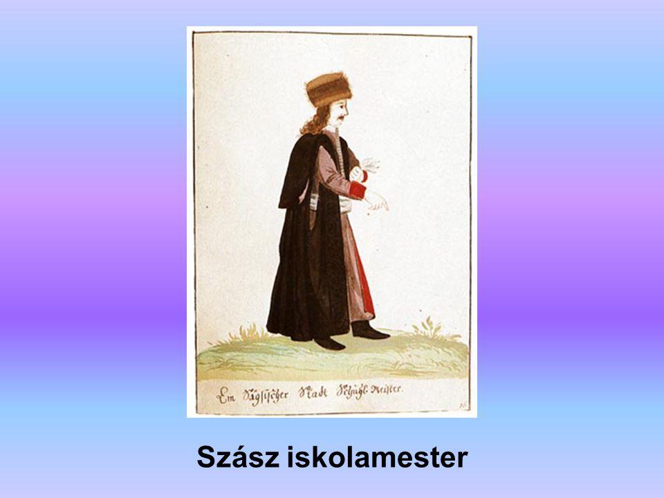 Szász iskolamester A forrás: