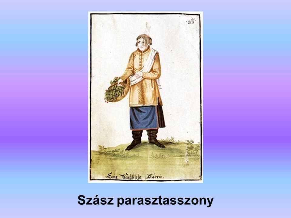 Szász parasztasszony A forrás: