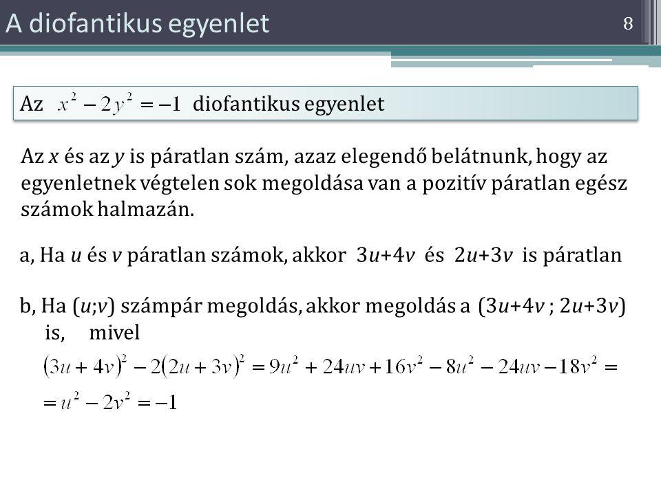 A diofantikus egyenlet