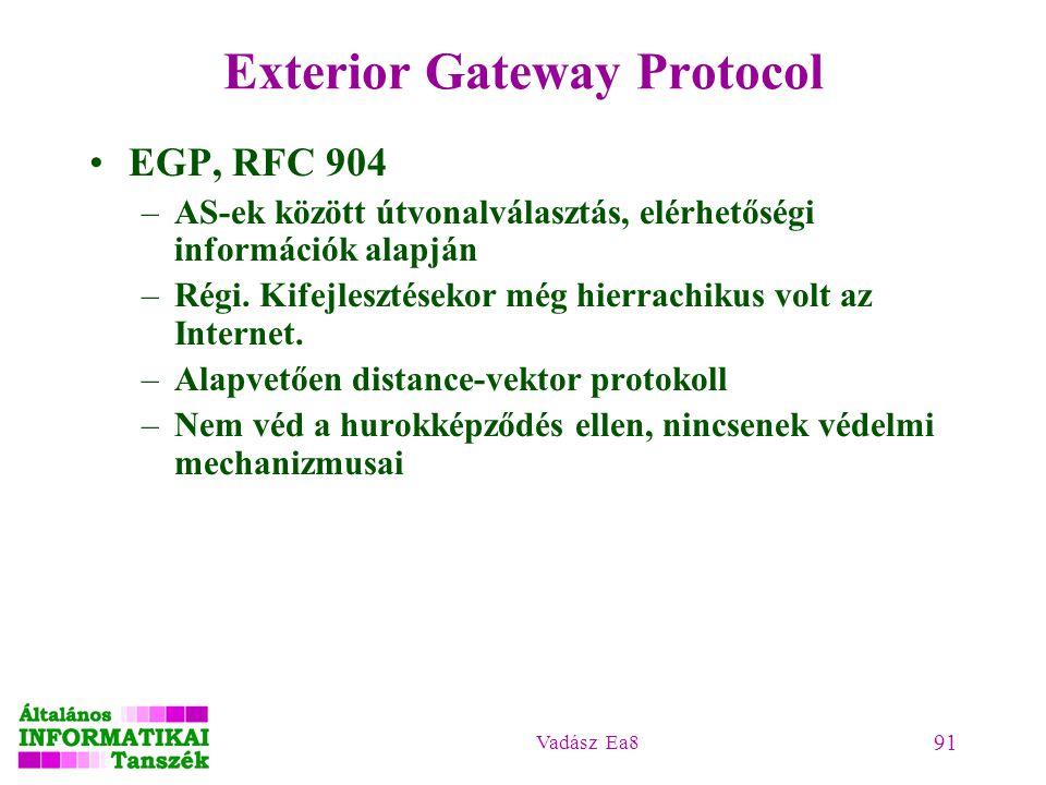 Exterior Gateway Protocol
