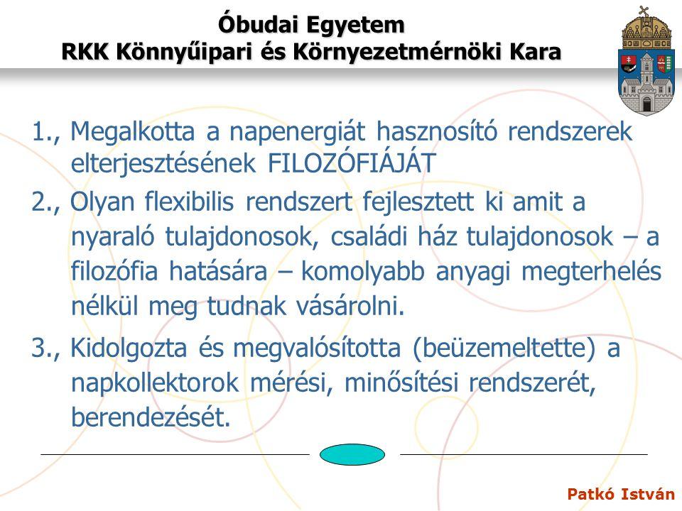 Óbudai Egyetem RKK Könnyűipari és Környezetmérnöki Kara