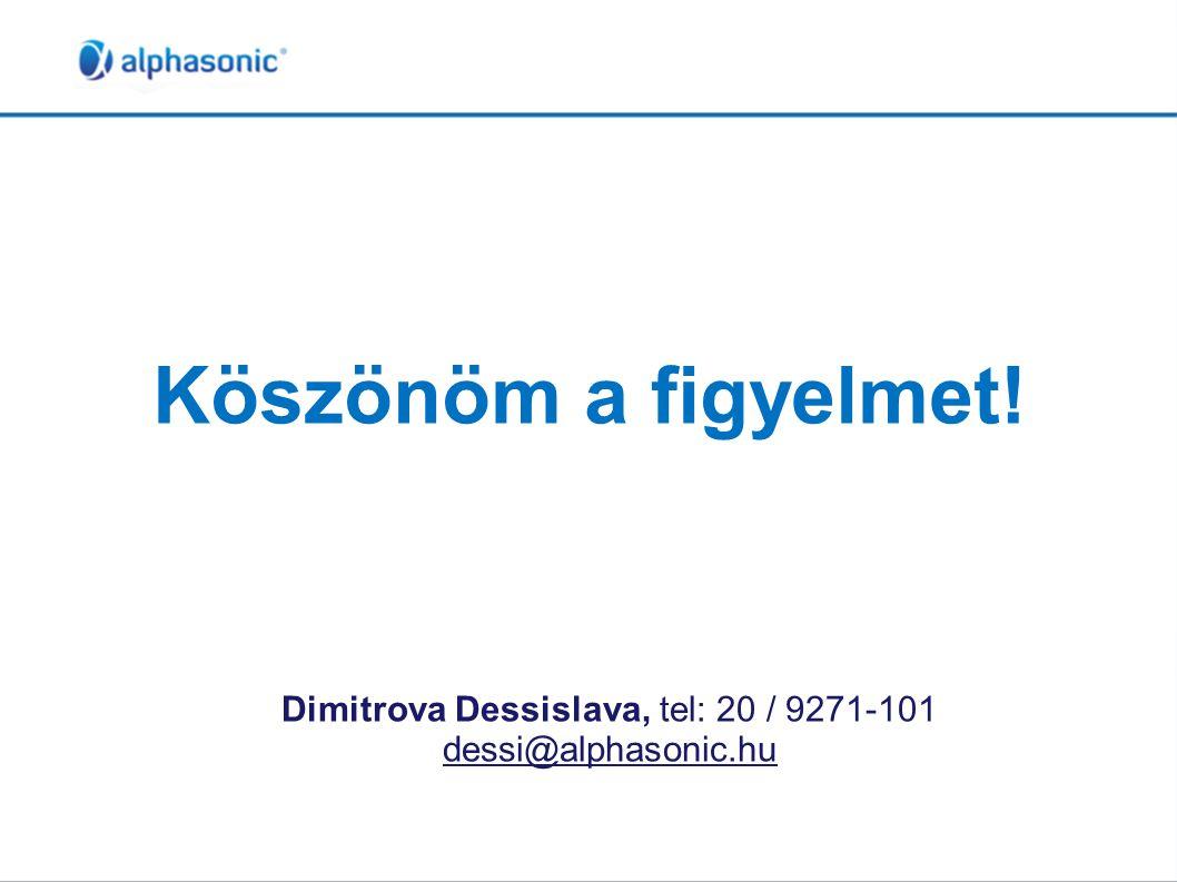 Dimitrova Dessislava, tel: 20 / 9271-101