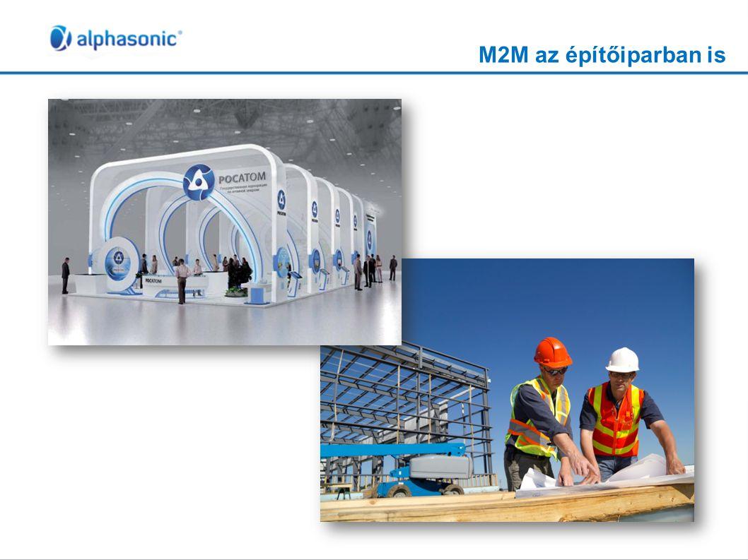 M2M az építőiparban is