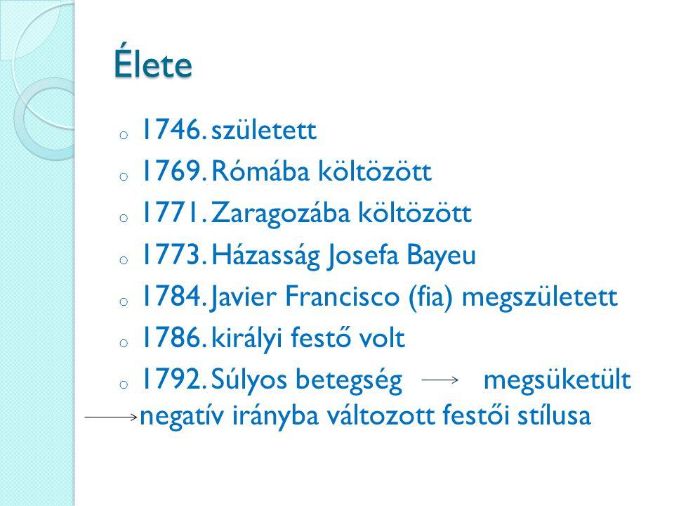 Élete 1746. született 1769. Rómába költözött