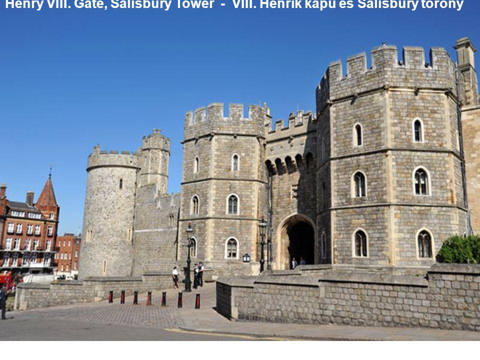 Henry VIII. Gate, Salisbury Tower - VIII